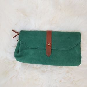 Madewell Suede Clutch